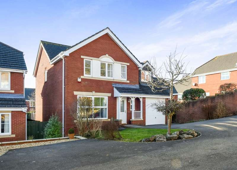 5 Bedrooms Detached House for sale in Dannog Y Coed, Barry