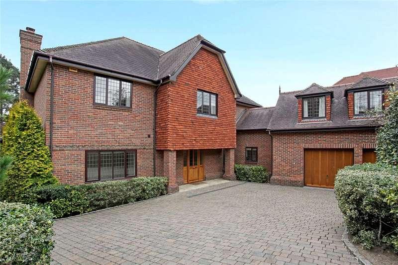 6 Bedrooms Detached House for sale in Weybridge Park, Weybridge, Surrey, KT13