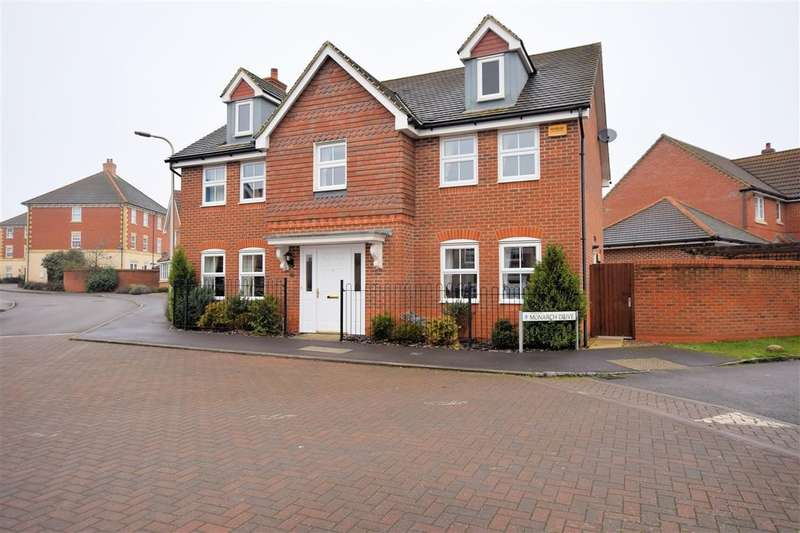 4 Bedrooms Detached House for rent in Monarch Drive, Shinfield, Reading, RG2