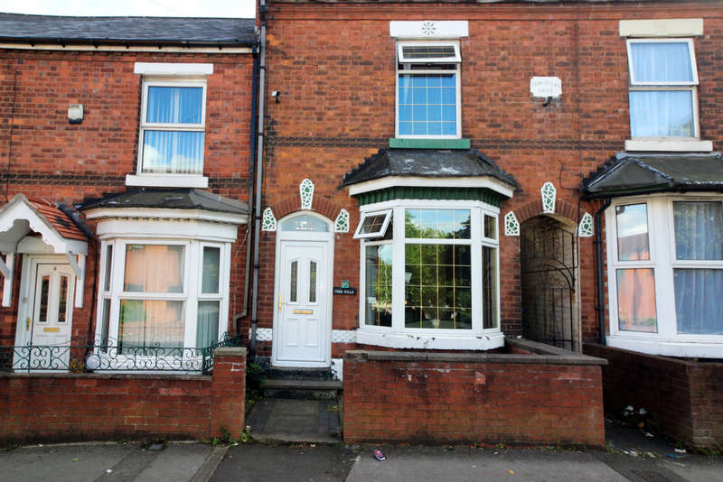 3 Bedrooms Terraced House for sale in Fern Villas, Wednesbury, WS10