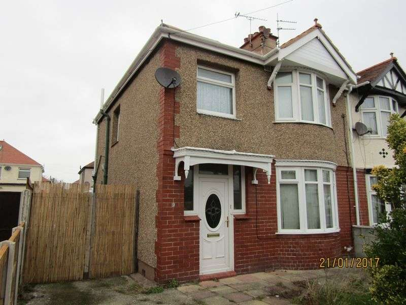 3 Bedrooms Semi Detached House for sale in Coventry Drive, Rhyl