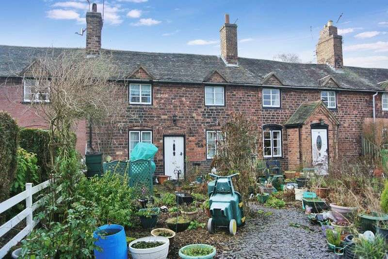 3 Bedrooms Terraced House for sale in Pool View, Horsehay, Telford, Shropshire.
