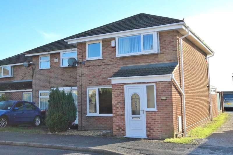 3 Bedrooms End Of Terrace House for sale in Windsor Road, Selston, Nottinghamshire, NG16