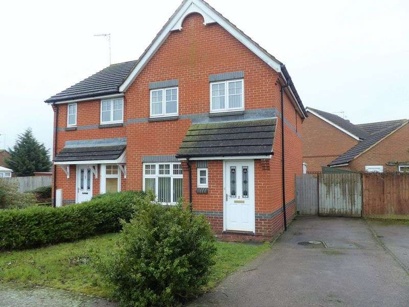 3 Bedrooms Semi Detached House for sale in Lang Farm, Daventry, NN11 0GW