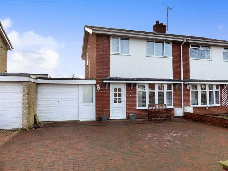 3 Bedrooms Semi Detached House for sale in Caernarfon