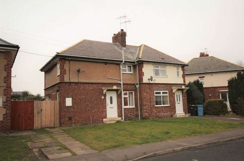 2 Bedrooms Semi Detached House for sale in Vernon Road, Chesterfield