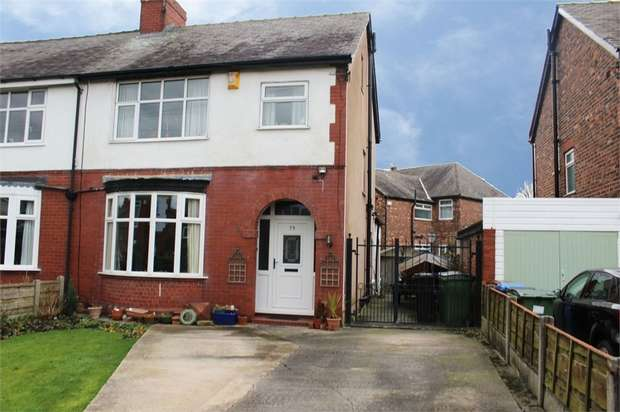 3 Bedrooms Semi Detached House for sale in Derby Road, Stockport, Cheshire