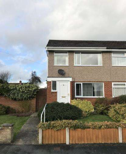 2 Bedrooms Semi Detached House for sale in Ash Grove, Leeswood, Mold, Flintshire, CH7