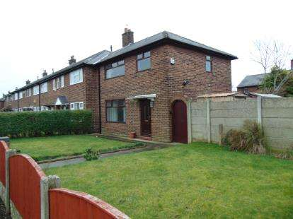 3 Bedrooms End Of Terrace House for sale in Borrowdale Avenue, Warrington, Cheshire, WA2