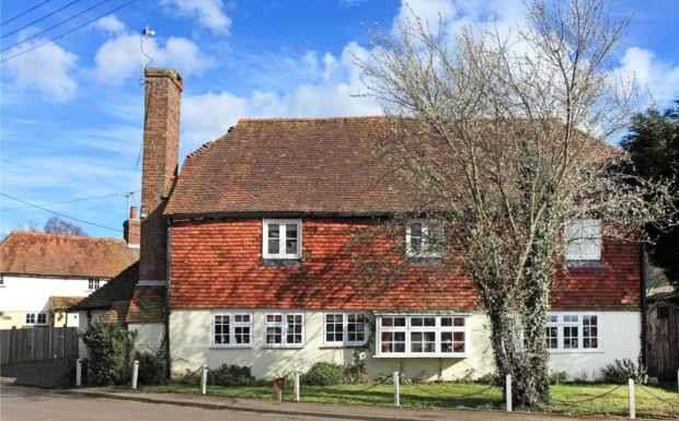 4 Bedrooms Detached House for sale in Chidley Cross Road, Tonbridge, Kent, TN12 5NP