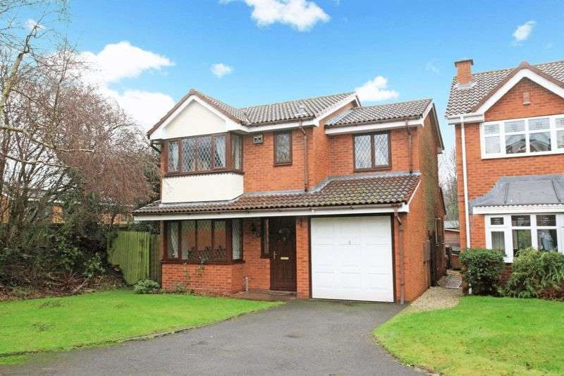 4 Bedrooms Detached House for sale in Elderberry Close, The Rock, Telford