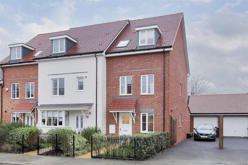 3 Bedrooms End Of Terrace House for sale in Locksbridge Road, Andover