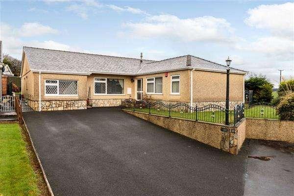 5 Bedrooms Detached Bungalow for sale in Brynhyfryd, LLANDDAROG, Carmarthen