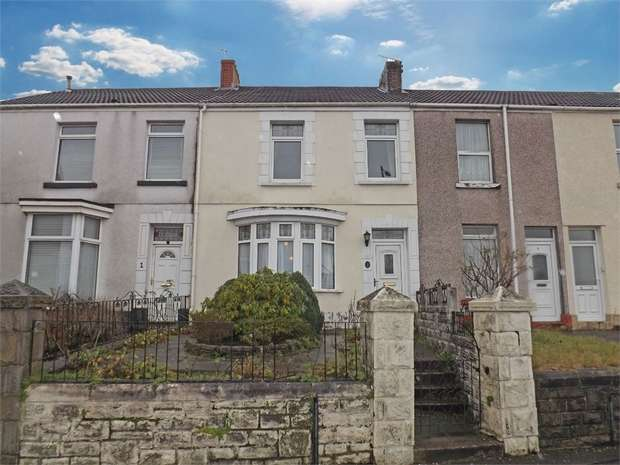 3 Bedrooms Terraced House for sale in Martin Street, Morriston, Swansea, West Glamorgan