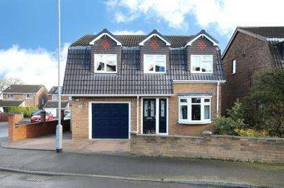 4 Bedrooms Detached House for sale in Bishopston Walk, Maltby, Rotherham, South Yorkshire