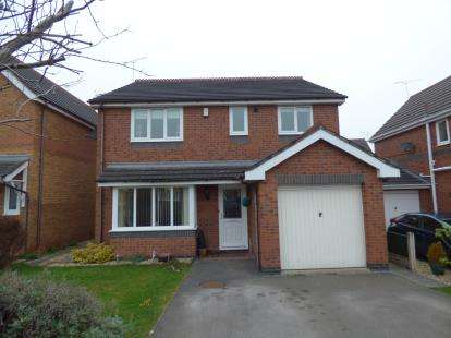 4 Bedrooms Detached House for sale in Bedwell Close, Ruabon, Wrexham, Wrecsam, LL14
