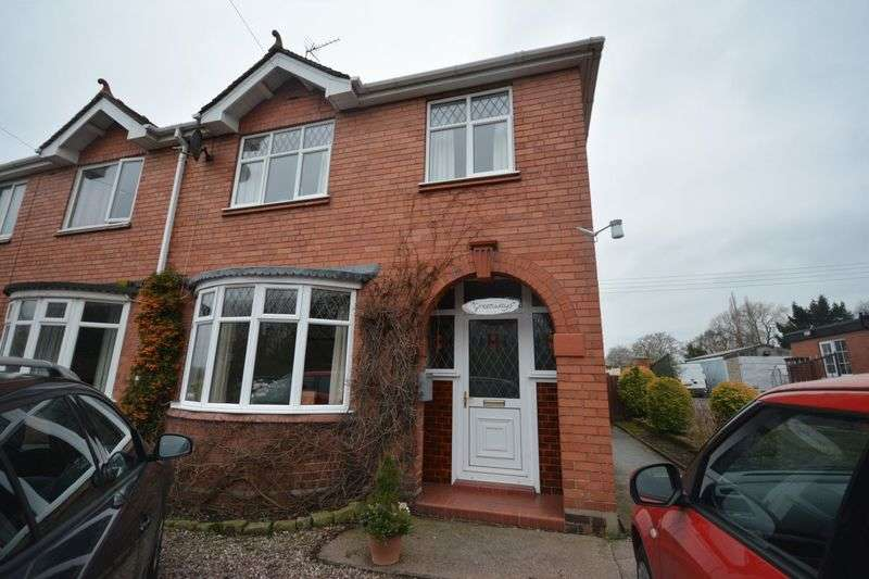 3 Bedrooms Semi Detached House for sale in Middlewich Road, Crewe