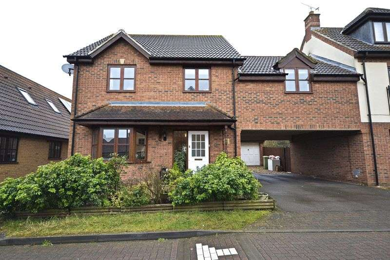 4 Bedrooms Detached House for sale in Berrington Grove, Milton Keynes
