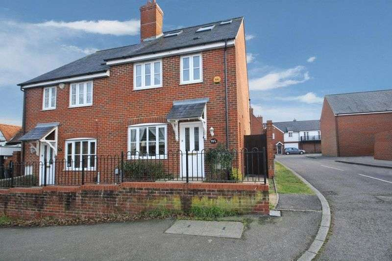 4 Bedrooms Semi Detached House for sale in Plomer Green Lane, High Wycombe