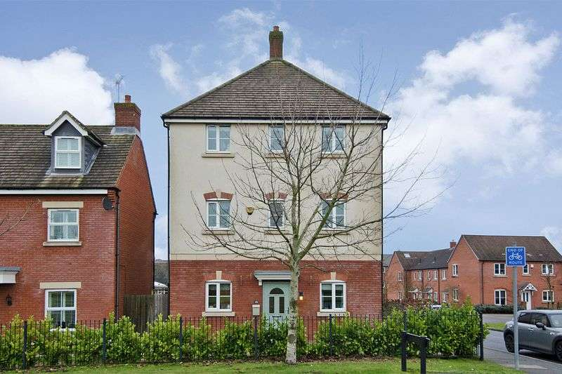 5 Bedrooms Detached House for sale in Falkland Road, Lichfield