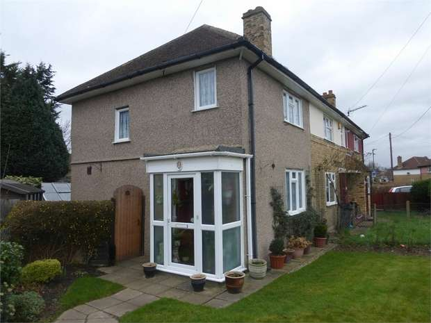 2 Bedrooms End Of Terrace House for sale in Morris Road, Isleworth, Middlesex