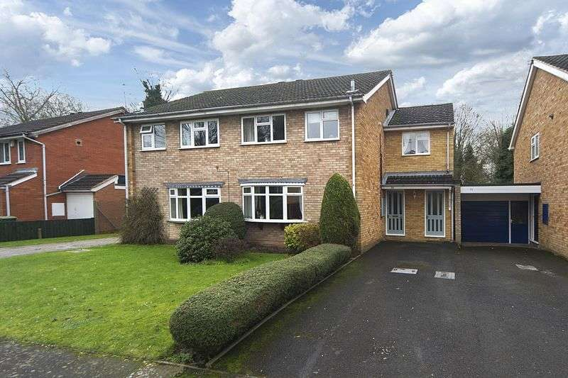 4 Bedrooms Semi Detached House for sale in Corve Gardens, Tettenhall, Wolverhampton