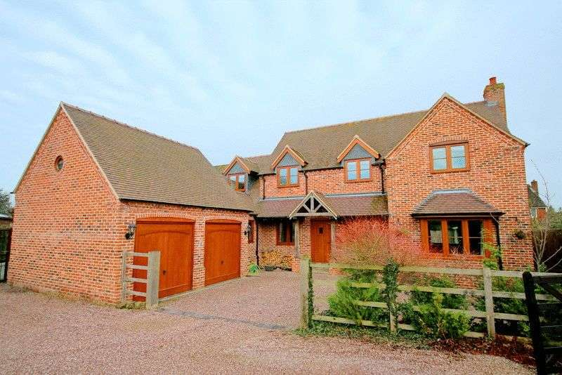 4 Bedrooms Detached House for sale in Mount Pleasant, Derrington, Stafford