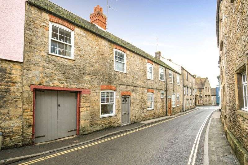 4 Bedrooms Terraced House for sale in BRUTON-4 Bedroom stunning period property with walled garden, carport and two storey stone outbuilding.