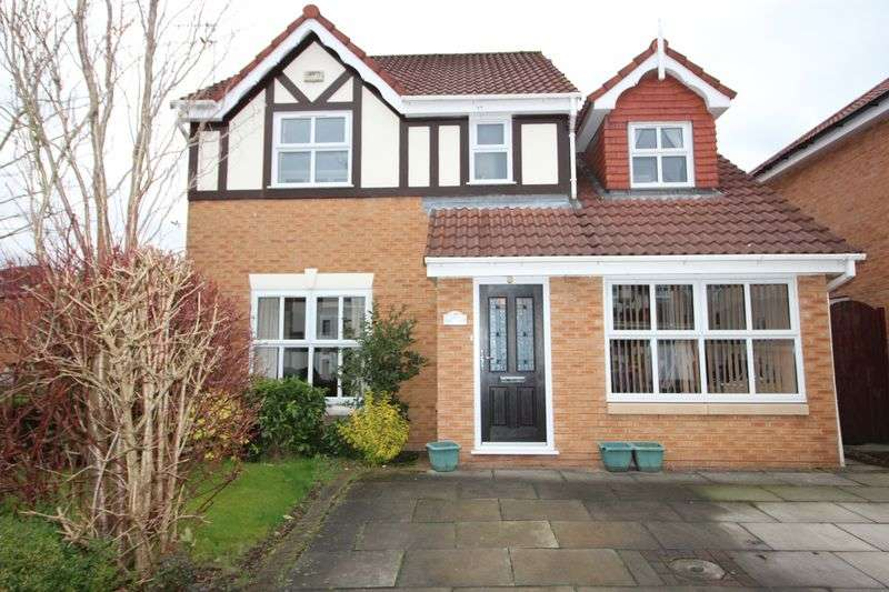 4 Bedrooms Detached House for sale in Amberhill Way, Worsley, Manchester, M28