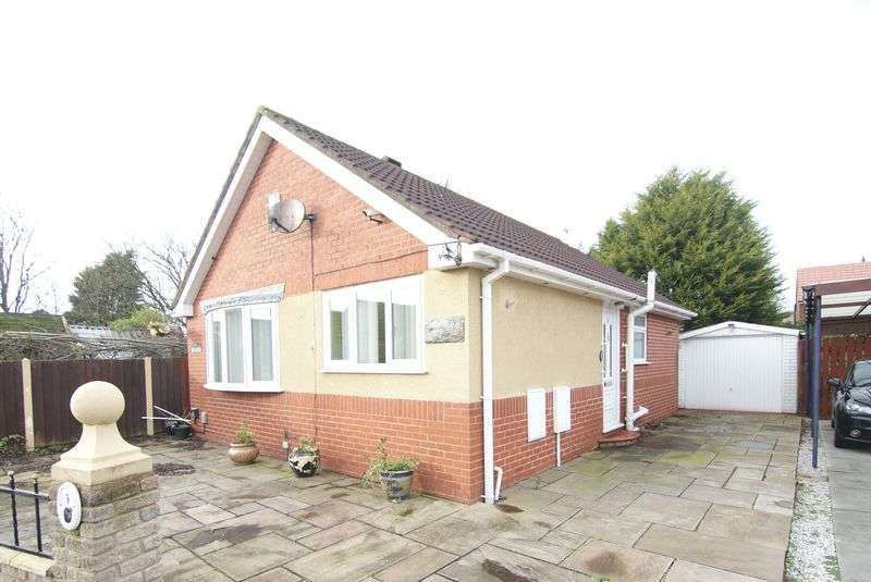 2 Bedrooms Detached Bungalow for sale in Ribble View Close, Warton, Preston