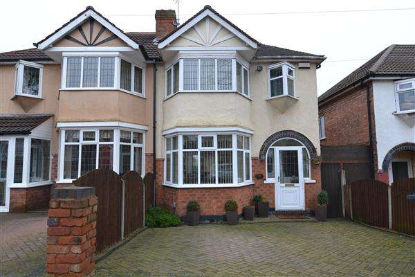 3 Bedrooms Semi Detached House for sale in Anstey Road, Great Barr, Birmingham