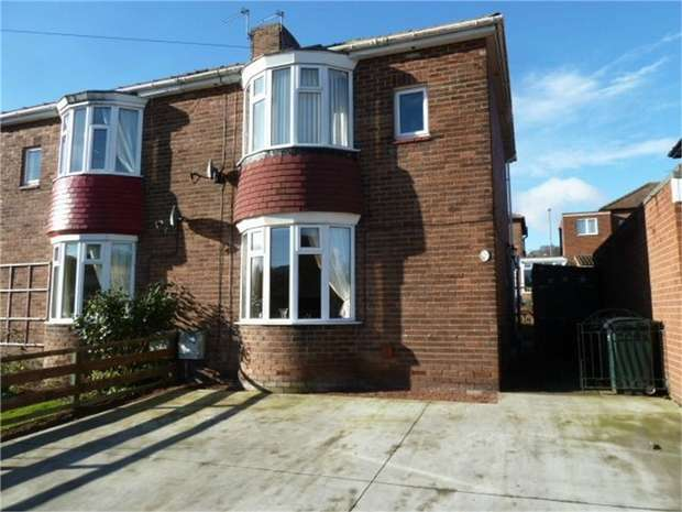 3 Bedrooms Semi Detached House for sale in Naylor Avenue, Winlaton Mill, Blaydon-on-Tyne, Tyne and Wear