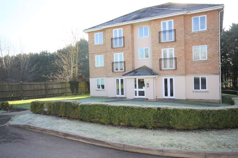 2 Bedrooms Flat for sale in Tarn Howes Close, Thatcham