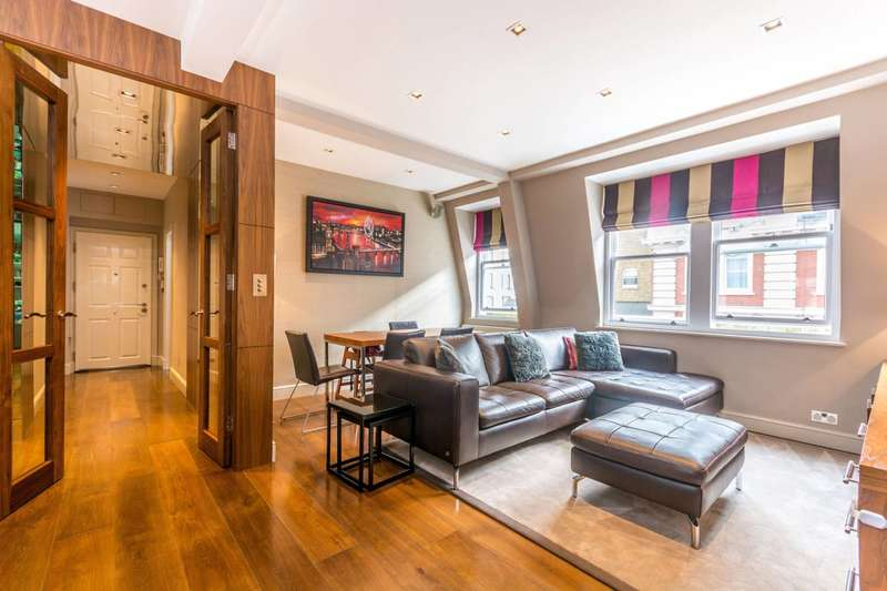 2 Bedrooms Flat for sale in Newman Street, Fitzrovia, W1T