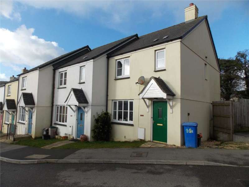 3 Bedrooms End Of Terrace House for sale in Grenville Close, Nanpean, St. Austell