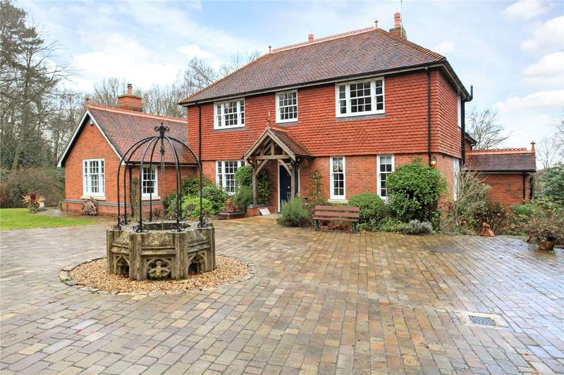 4 Bedrooms Detached House for sale in Woodgreen, Fordingbridge, Hampshire, SP6