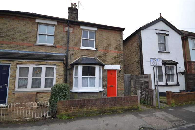 2 Bedrooms Semi Detached House for sale in Gresham Road, Brentwood