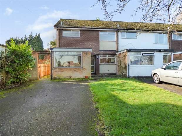 3 Bedrooms End Of Terrace House for sale in Cornyx Lane, Solihull, West Midlands