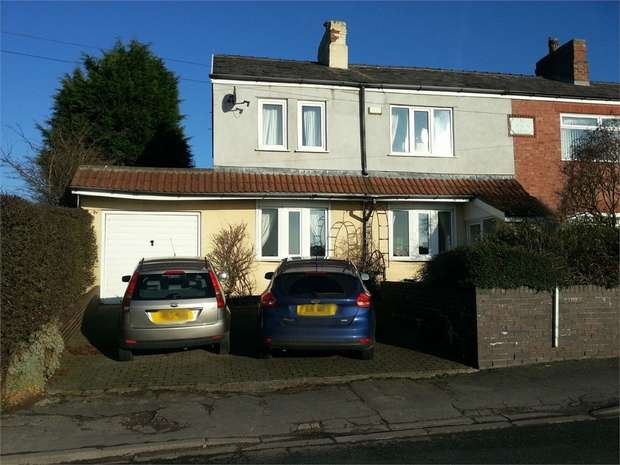 3 Bedrooms Semi Detached House for sale in Church Road, Bickerstaffe, Ormskirk, Lancashire