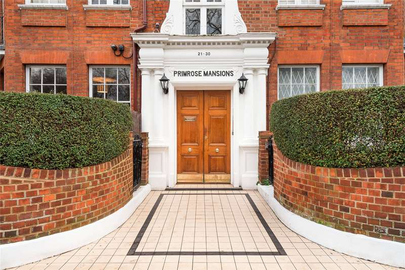 Studio Flat for sale in Primrose Mansions, Prince of Wales Drive, London, SW11