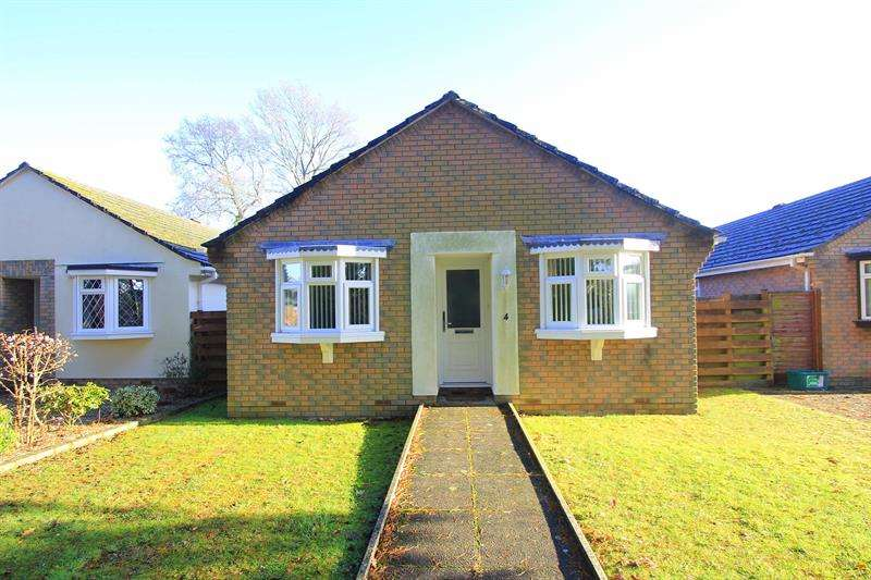 2 Bedrooms Detached Bungalow for sale in Blackthorn Way, Verwood