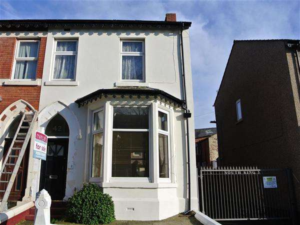 4 Bedrooms End Of Terrace House for sale in South King Street, Blackpool