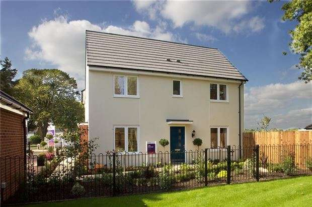 3 Bedrooms Semi Detached House for sale in Plot 1 The Winfred, Saxon Quarter, Arle Road, CHELTENHAM, Gloucestershire, GL51 8LF