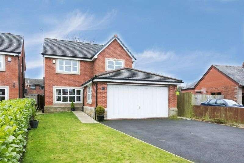4 Bedrooms Detached House for sale in Park Brook Lane, Shevington, WN6 8AF