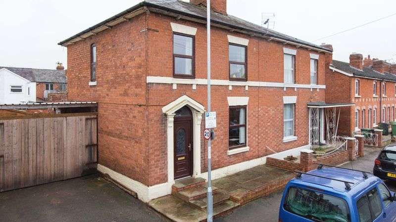 3 Bedrooms Semi Detached House for sale in Green Street, St. James, Hereford, HR1 2QW