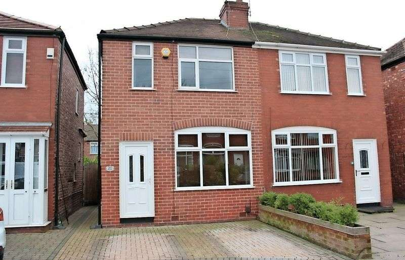 2 Bedrooms Semi Detached House for sale in 20 Hartland Close, Offerton, Stockport, SK2 5BB