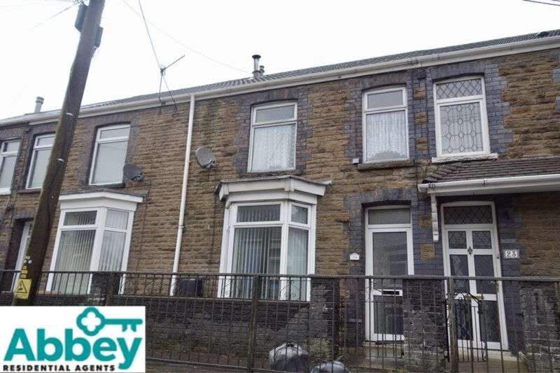 3 Bedrooms Terraced House for sale in Twynpandy, Pontrhydyfen, Port Talbot, SA12 9TW