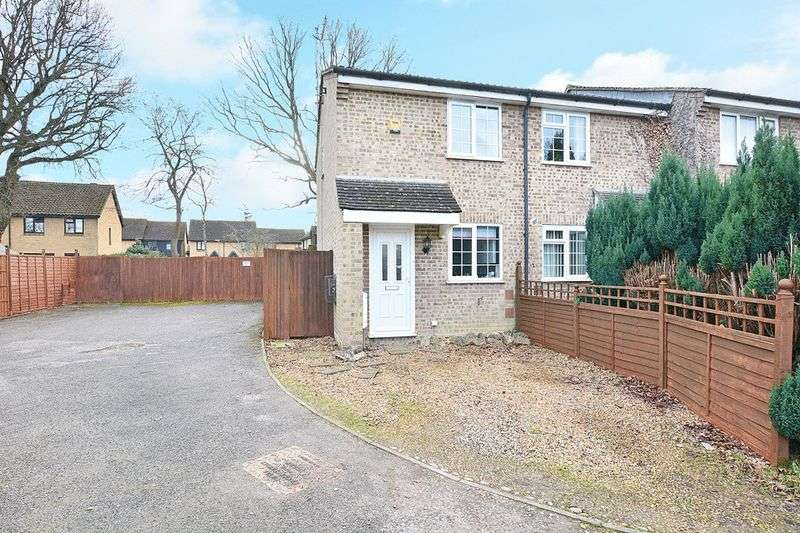 2 Bedrooms Terraced House for sale in Harrowsley Court, HORLEY