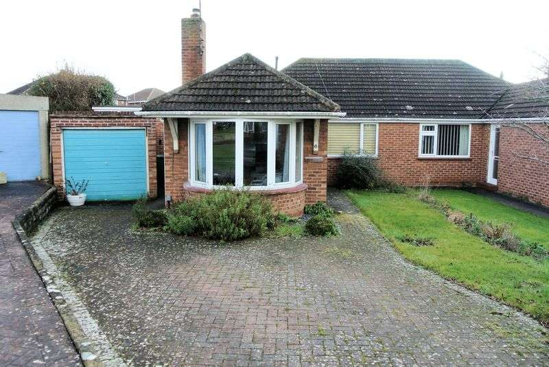 3 Bedrooms Semi Detached Bungalow for sale in Glevum Close, Gloucester