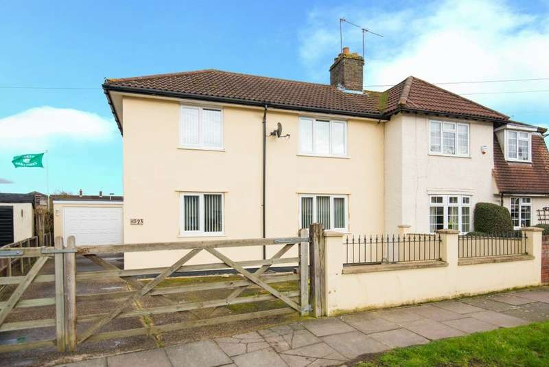 3 Bedrooms Semi Detached House for sale in Vernon Drive, Harefield, Middlesex